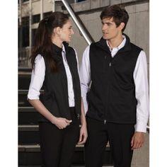 Ladies Biztech Plain Soft Shell Vest