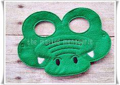 Alligator Mask Crocodile Mask Halloween Mask Pretend Play