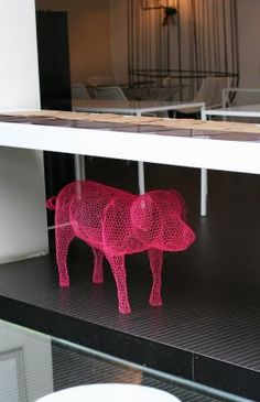 Purple Area: Home Made Restaurant in Tortona Milan. i want the piggy.