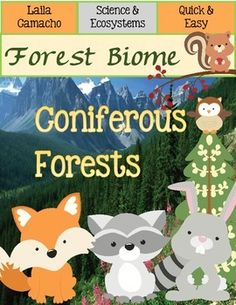 Forest Coniferous Forests. Learn all about the Coniferous Forests; their…