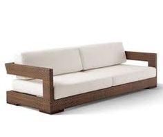 Resultado de imagem para sofá madeira varanda