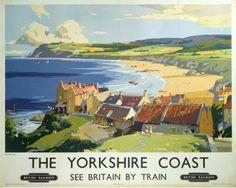 Robin Hood's Bay - The Yorkshire Coast ... See Britain by Train.