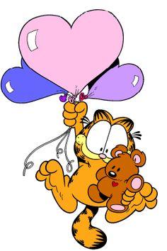 Garfield and Pooky Garfield Birthday, Garfield Quotes, Garfield Cartoon, Garfield And Odie, Garfield Comics, Cartoon Pics, Cartoon Characters, Comic Cat, Garfield Wallpaper