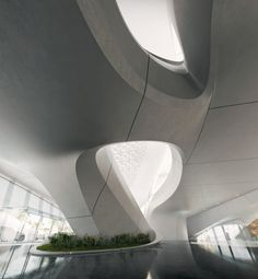 Bee'ah Headquarters - Architecture - Zaha Hadid Architects [Zaha Hadid: http://futuristicnews.com/tag/zaha-hadid/]