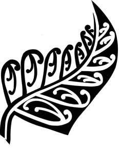 New Zealand Fern By KayKay Tagged With Black White Fern Koru - Wall decals nzsilver fern kia ora new zealand maori wall sticker vinyl decal ebay