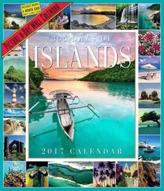 365 Days of Islands Picture-a-day 2017 Calendar