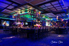 Creative, Artistic & Modern Bar Mitzvah Centerpieces {Cristina Calvi…