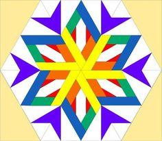Colourful Snowflake