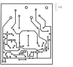 2n3055 power amplifier pcb pistas 454x420 Placas para o amplificador com 2n3055 audio circuito circuito amplificador