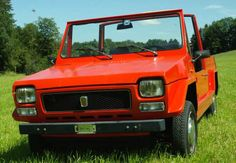 1971-1984 FIAT 127 SCOUT - by Carrozzeria Fissore of Turin.