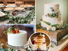 Fall 2016 wedding cake trends show a return to the basics with clean lines, simple textures and bunches of blooms or greenery. And we're still loving the naked cake trend!