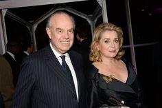 Frederic Mitterrand and Catherine Deneuve