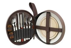 Deluxe Travel Picnic Set for 2 by Picnic at Ascot >> This is superb! I want it! $ 29.00