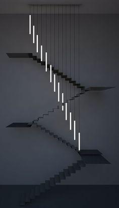 Chiara Ferrari & Seam Design — bespoke  Chandelier for residential project in London