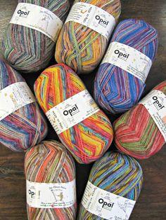 The Woolly Brew: Little Prince, Opal sock wool.