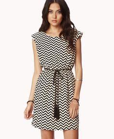 Geo Pattern Shift Dress -- Forever 21  $24.80