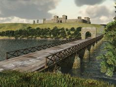 Pons Aelius was a fort and Roman settlement on the eastern end of Hadrian's Wall situated west of the forts of Segedunum (Wallsend) and Arbeia (South Shields), north of Concangis (Chester-le-Street),
