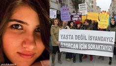 KDZ. EREĞLİ'DE ÖZGECAN İÇİN ÖĞRENCİ EYLEMİ..