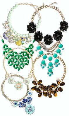 Hot or Not: Big necklaces Big Necklaces, Hot, Jewelry, Jewellery Making, Jewels, Jewlery, Jewerly, Jewelery, Jewel