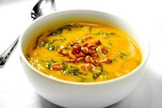 Ava Catau :: You are what you eat.: Better For You Butternut Squash Soup