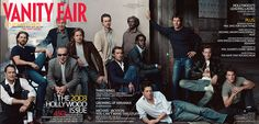 Avril 2003 - Tom Hanks, Tom Cruise, Harrison Ford, Jack Nicholson, Brad Pitt, Edward Norton, Jude Law, Samuel L. Jackson, Don Cheadle, Hugh Grant, Dennis Quaid, Ewan McGregor et Matt Damon par Annie Leibovitz