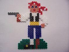 Pirate / hama perler beads / Bügelperlen