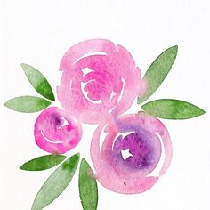 One of my roommates is a four year old aspiring princess, and she thinks this is the best thing I have ever painted . #pinkandpurple forever!! The psychedelic nature of opera rose is hard to capture, but I love how it granulates and glows wherever I put it . . . . #flowers #winsorandnewton #simple #watercolorart #watercolour #artoftheday #artistsofinstagram #livecolorfully #yegart #yeggers #calledtobecreative