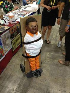 les plus beaux deguisement halloween pour enfant hannibal lecter   Splendides déguisements Halloween pour enfant   Walter White troll Run DM...