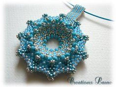 DONUT PERLÉ de CREATIONS LAURE Tutorial is in Spanish, but good pictures to follow.