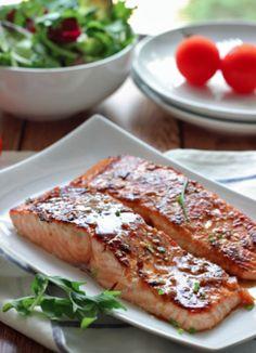 Le saumon miel et ail... Un pur délice! #recette #souper #saumon #miel #ail #santé