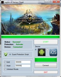 Telecharger Legion of Heroes Hack [Android / IOS] – Comment Pirater Legion of Heroes Triche