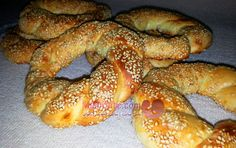 سیمیت ( نان صبحانه ترکیه ) - simit bread