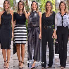 Look de trabalho - look do dia - look corporativo - moda no trabalho - work outfit - office outfit - spring outfit - look executiva - look de verão - summer outfit - Black - preto - branco