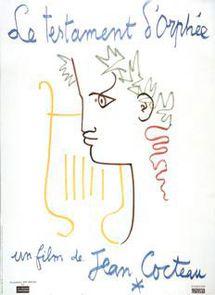 Jean Cocteau. Le Testament d'Orphée, 1960 Col. L. Clergue © J. Bernard