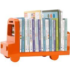 DwellStudio Bookshelf Bus Orange
