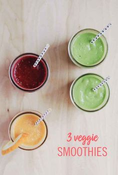 Your kids won't believe vegetables could taste so good after they try these 3 sweet veggie smoothies! Get the recipes, only at Babble!