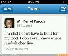 Will ferrell tweet