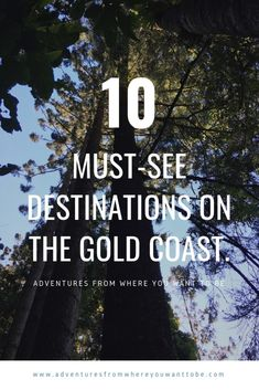 Are you one of the 13 million visitors heading to the Gold Coast this year and wondering what should we be doing. We have compiled our list from our time living on the Gold Coast and our visit there. Top ten must-see destinations on the Gold Coast. Brisbane, Sydney, Australia Tourism, Visit Australia, South Australia, Western Australia, Queensland Australia, Travel Guides, Travel Tips