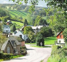 The picturesque village of Exford, set perfectly to explore Exmoor National Park Somerset, England And Scotland, England Uk, Places To Travel, Places To Visit, English Village, English Countryside, Wonderful Places, Cottages