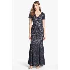 Eliza J Lace Mermaid Dress