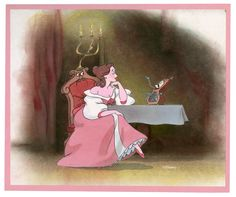 Like how the actress who voices Belle found out by accident that she had gotten the part...