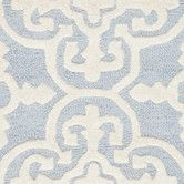 Found it at Wayfair - Cambridge Light Blue / Ivory Rug $70