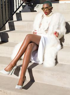 Hey loves. Its been a whirlwind few weeks. Hope you are all staying fabulous. Here is a post I wanted to share. xx Look: I am wearing an Ostrich feather coat, Versace Skirt, Gifted Sweater, Mykita Sunnies, Casadei heels.