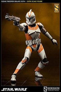 Star Wars: Clone Trooper Deluxe Attack Battalion Sixth Scale Figure * To view further for this item, visit the image link. (This is an affiliate link) Star Wars Figurines, Star Wars Toys, Lego Star Wars, Star Wars Clone Wars, Star Wars Art, Star Wars Pictures, Star Wars Images, Clone Trooper, Sideshow Star Wars