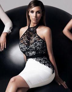 Kardashian Kollection Halter Pencil Dress