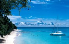 """Plage à la Barbade (Barbados)-  """"Home is where the heart is, and my heart is wherever I am at the moment."""" — Lily Leung"""