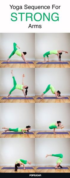 Yoga to tone and strengthen your arms while getting flexible all over! Yoga for health, yoga for beginners, yoga poses, yoga quotes, yoga inspiration Ashtanga Yoga, Vinyasa Yoga, Kundalini Yoga, Iyengar Yoga, Yoga Fitness, Health Fitness, Fitness Classes, Fitness Plan, Women's Fitness
