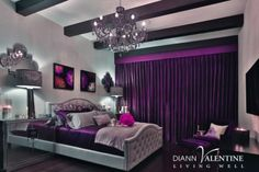 Our Nicolette Bed, Century Lamp, & Juliette Pillows add lavish luxury to this space by @Diann Valentine.