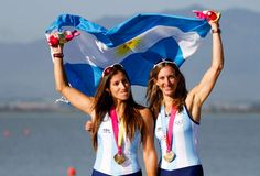 Maria Laura Abalo and Maria Gabriela Best, Argentina Rowing