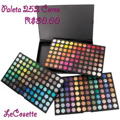 Paleta 252 Cores R$80,00